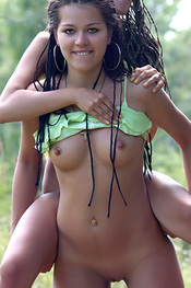 Rhasta Teens Bernardetta And Stanislava Playing Nude Outdoors for Zemani