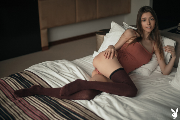 'Undressing Mila' with Mila Azul via Playboy Plus - 00