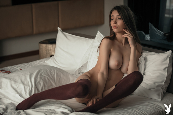 'Undressing Mila' with Mila Azul via Playboy Plus - 10