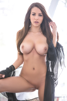 Busty Shelby Chesnes Via Playboy - 10