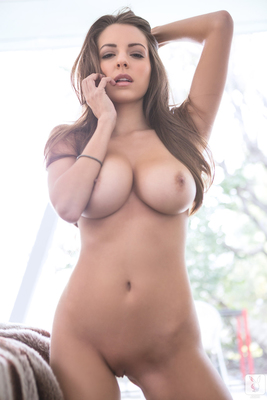 Busty Shelby Chesnes Via Playboy - 14