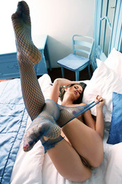 Little Caprice Fishnet Stockings For Watch4Beauty