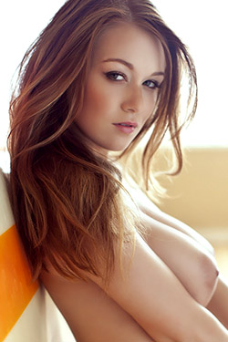 Leanna Decker Strip for PlayBoy Plus